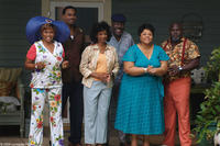 Vera (Jenifer Lewis), Will (Lamman Rucker), Sarah (Margaret Avery), L.B. (Frankie Faison), Cora Brown (Tamela Mann) and Mr. Brown (David Mann) in