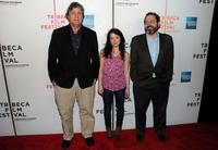 Tom Bernard, Sarah Steele and Mark Barker at the premiere of