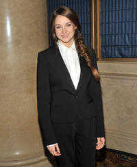 Shailene Woodley at the IFP's 21st Annual Gotham Independent Film Awards in New York.