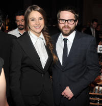 Shailene Woodley and director Sean Durkin at the IFP's 21st Annual Gotham Independent Film Awards in New York.