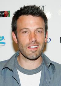Ben Affleck at the Ante Up for Africa celebrity poker tournament during the World Series of Poker.