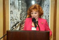 Patricia Barry at the AFI luncheon honoring Jean Picker Firstenberg.