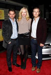 Andrew DiPalma, Candice Accola and Noah Segan at the 2008 AFI Fest Special Screening of