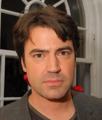 Ron Livingston at the cocktail reception for Omegamania-Antiquorum's preview of 300 collector's Omega timepieces.