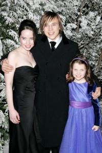Anna Popplewell, William Moseley and Georgie Henley at the after party of the Royal Film Performance and world premiere of