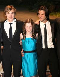 William Moseley, Georgie Henley and Ben Barnes at the Japan premiere of