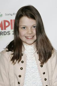 Georgie Henley at the Sony Ericsson Empire Film Awards 2006.