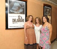 Rachel Grady, Sara Bernstein and Heidi Ewing at the screening of
