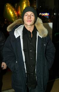 Leo Gregory at the London premiere of