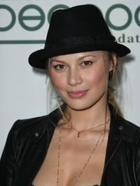 Moon Bloodgood at the Black Eyed Peas 4th Annual Peapod Foundation Benefit Concert.