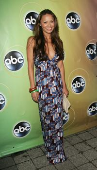 Moon Bloodgood at the ABC Television Network Upfront.