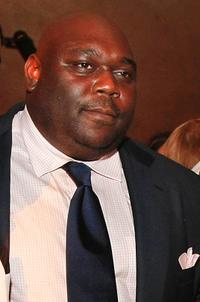 Faizon Love at the after party of the premiere of