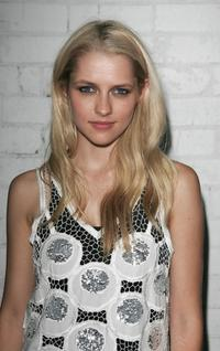Teresa Palmer at the Sass and Bide eyewear launch.