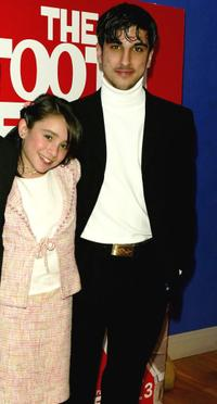 Yasmin Paige and Guest at the UK premiere of