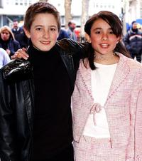 Rory Copus and Yasmin Paige at the UK Premiere of