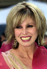 Joanna Lumley at the Royal Academy of Arts to attend part of the Golden Jubilee celebrations for Queen Elizabeth.