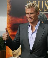 Dolph Lundgren at the presentation of
