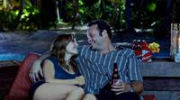 Malin Akerman as Ronnie and Vince Vaughn as Dave in