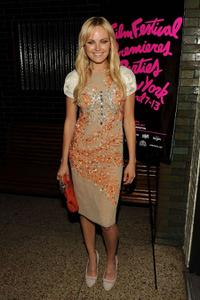 Malin Akerman at the after party of the New York premiere of