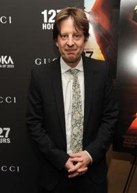 Christian Colson at the New York premiere of