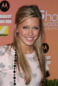 Katie Cassidy at the US Weekly Hot Hollywood Awards party.