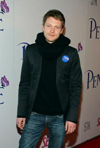 Simon Woods at the premiere of