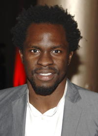 Gbenga Akinnagbe at the New York premiere of