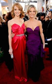 Jayma Mays and Jessalyn Gilsig at the 16th Annual Screen Actors Guild Awards.
