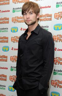 Chace Crawford at the press conference of
