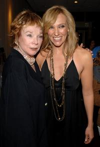 Shirley MacLaine and Toni Collette at the California premiere of