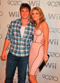 Matt Lanter and AnnaLynne McCord at the