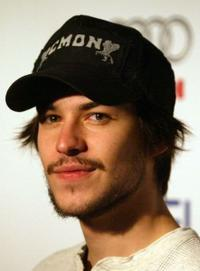 Marc-Andre Grondin at the premiere of