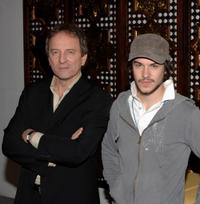 Michael Cote and Marc-Andre Grondin at the photocall of