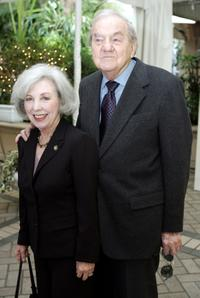 Karl Malden and wife Mona Graham at the 2004 AFI awards luncheon.