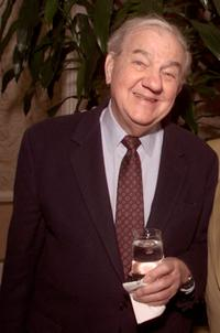 Karl Malden at the reception of Ronald Neame 90th Birthday.