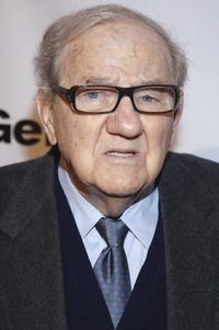 Karl Malden at the opening celebration gala for the newly renovated Geffen Playhouse.
