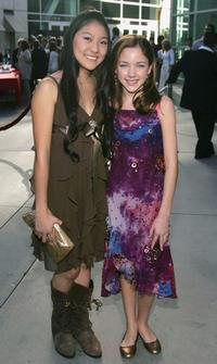Miki Ishikiwa and Haley Ramm at the premiere of