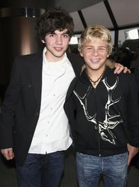 Carter Jenkins and Jonathan Lipnicki at the premiere of
