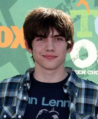 Carter Jenkins at the 2008 Teen Choice Awards.