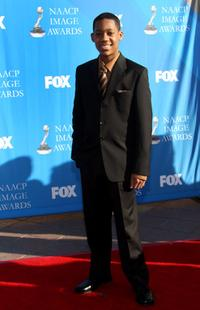 Tyler James Williams at the 39th NAACP Image Awards.