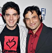 Manolo Cardona and Producer Matthias Ehrenberg at the North American premiere of
