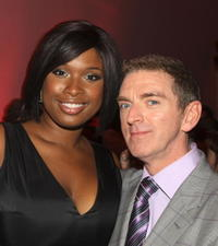 Jennifer Hudson and Director Michael Patrick King at the after party of the New York premiere of