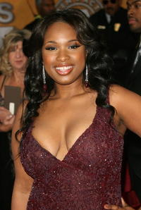 Jennifer Hudson at the 13th Annual Screen Actors Guild Awards.