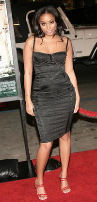 Lauren London at the Hollywood premiere of