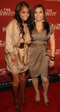 Lauren London and Egypt at the BET's