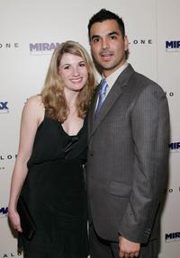 Jodie Whittaker and Guest at the Miramax Films pre-Oscar party of