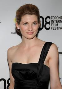 Jodie Whittaker at the premiere of