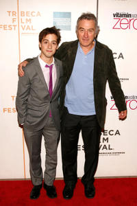 Matt Bush and Robert De Niro at the  premiere of