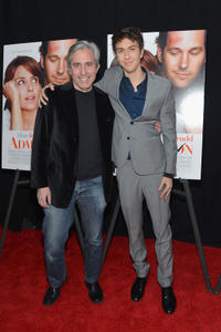 Director Paul Weitz and Nat Wolff at the New York premiere of