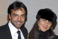 Eugenio Derbez and Kate del Castillo at the after party of